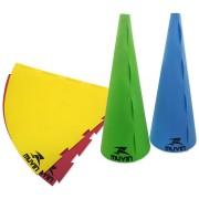 Cone de Marcação 75cm em EVA (Kit com 4 unidades) - Tamanho Único (75 cm)