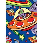 Royal & Langnickel Junior Mini Paint By Number Kit: 5x7 Outer Space My First