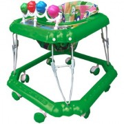 Oh Baby Square Shape Pilastic Boby Green Color Walker For Your Kids Se-W-50