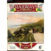 Railways Magazine - New Zenad / Vol. Xii. N°9 - December 1937 / Transformation Libraries / The Secondary Scholls Of New Zeland / Lost Valley / An Ace Among Miggrant Birds / Etc...