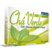 Chá Verde + Cascara Sagrada e Nopal Comprimidos
