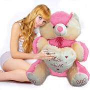 3.5 feet (10) Big Teddy Bear colour Pink