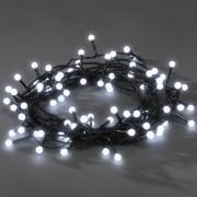 Konstsmide LED Lichterkette, 80 runde Dioden, rot