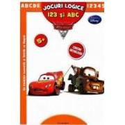 Jocuri logice 123 ai Abc Disney Pixar Masini - Sa invatam numerele si literele cu Masini