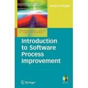 Introduction to Software Process Improvement by Gerard O'Regan