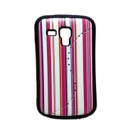iCandy™ Matte Leather Soft Back Cover For Samsung Galaxy Samsung Galaxy S Duos S7562 / S Duos 2 S7582 - Pink