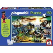 Playmobil Puzzel Pirate Island