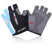 HEXIN Mountain Bike Gloves Half Finger Biking Gloves Men's/Women's Gloves