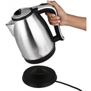 Wonder World ™ Cordless - 7 Cup Hot Water Tea Coffee Electric Kettle(1.8 L, Silver)
