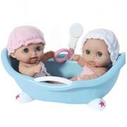 Lil Cutesies Dolls Set with Bathtub