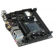 Carte mre MSI A88XI AC V2 Carte mre Socket FM2 / FM2 + Sound-G LAN WiFi USB 3.0 SATA3 BT Mini-ITX bord, 1x PCIe x16 FM2 + AMD A88X FCH (Bolton-D4)