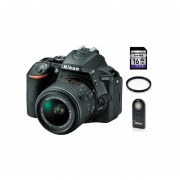 Camara Reflex Nikon D5500 Kit con Lente 18-55mm +16gb + Control + Filtro UV