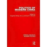 Politics of Modern China by Yongnian Zheng