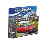 Revell 67071 - VW Golf 1 Cabrio Kit di Modellismo, Scala 1:24