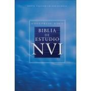 Editorial Vida Biblia de Estudio NVI, Tapa Dura = Study Bible-Nu