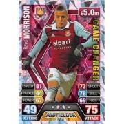 Match Attax Extra 2013/2014 Ravel Morrison Game Changer 13/14