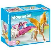 PLAYMOBIL-5143 - Carrosse avec cheval ailé-