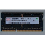 Memorie laptop Hynix 4 GB DDR3 PC3-10600S-9-10-F2 1333 Mhz NOU