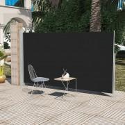 vidaXL Stojací markýza na terasu / dvůr, 160 x 300 cm, černá