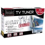 Hercules Smart TV 2 Stereo - Adaptateur d'entrée vidéo / tuner TV - PCI - PAL-B/G, PAL-K, PAL-D