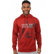 The North Face MA Graphic Surgent Hoodie Pompeian Red Heather/Asphalt Grey
