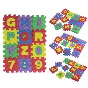 Suppion 36Pcs Baby Child Number Alphabet EVA Puzzle Foam Maths Educational Toy Gift