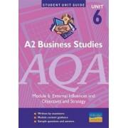 A2 Business Studies AQA: module 6 by Gwen Coates