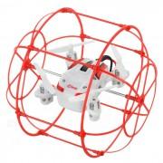 HappyCow vuelo y R Pared de escalada / C avion del juguete w / 360 'Tumble - Rojo