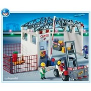 Playmobil Cargo with Zone Forklift