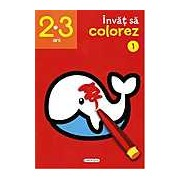 Invat sa colorez 1 (2-3 ani)