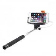 Selfie stick met Audiokabel knopje monopod