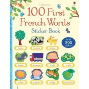 100 First Words in French Sticker Book by Mairi Mackinnon