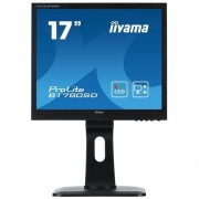 Monitor iiyama ProLite B1780SD-B1, 17'', LCD, 5ms, DVI, pivot