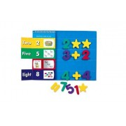 Learning Resources Magnetic Soft Foam Activity Set, 123 Number Fun