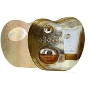 Donna Karan Golden Delicious Gift Set for Women (Eau de Parfum Spray Body Lotion)