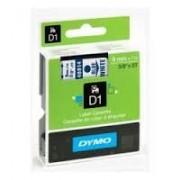 Dymo D1 Label Cassette 9mm x7m (SD40914) - Blue on White