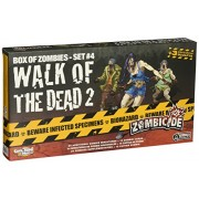 Zombicide Box of Zombies: Walk of the Dead 2 Set #4 - Juego de mesa, para 6 jugadores (CoolMiniOrNotInc. GUG0018) (versión en inglés)