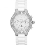DKNY Quartz White Round Women Watch NY2223