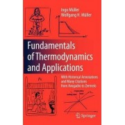 Fundamentals of Thermodynamics and Applications by Ingo M