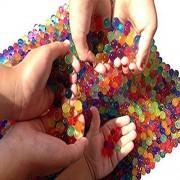Sooper Beads Water Beads, 2 Oz Pack Crystal Water Bead Gel [Rainbow Mix] For Kids
