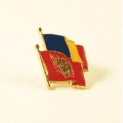 Insigna Romania - Albania