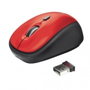 Myš TRUST Yvi Wireless Mouse - red