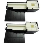 Epson Waste Ink Pad Pack of 2 For Epson L210 L110 L310 L360 L130 L313 L363 L220 L111 Printer Multi Color Ink (Black)