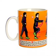 """Running Man Dance Mug"""