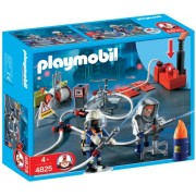 Playmobil 4825 Rescue Set Firefighter with Water Pump