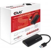 Club3D USB3.0 Graphics to HDMI1.4, 4K30Hz max