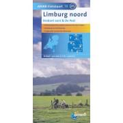 Fietskaart 19 Limburg noord - Brabant oost - De Peel | ANWB Media