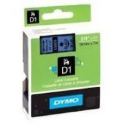 Dymo D1 Label Cassette 19mmx7m (SD45806) - Black on Blue