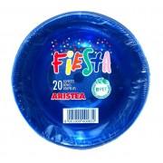 Set 20 boluri 380 cc PET ARISTEA albastru