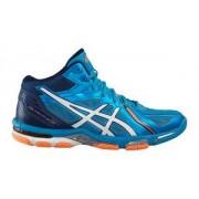 Asics Gel-Volley Elite 3 MT modrá / bílá / oranžová UK 6 US 7 EU 40 25 cm